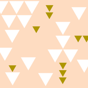 blush triangle fall