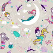 Mermaid Lullaby SMALL (Candy)