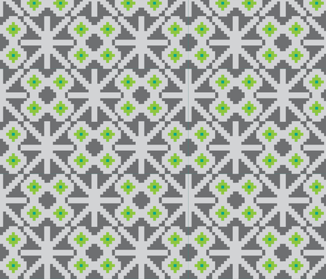 xox-ch-ch fabric by flock on Spoonflower - custom fabric