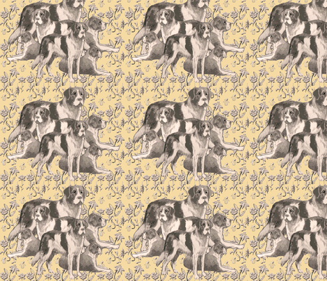 Saint Bernards Pastel