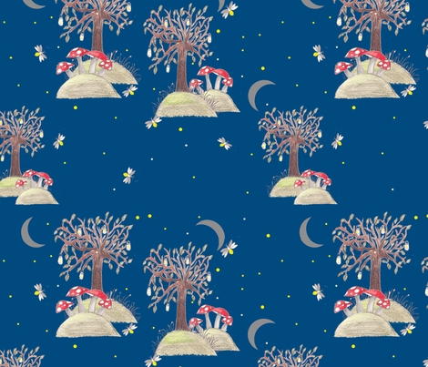FireflyFairytale fabric by emilydiddle on Spoonflower - custom fabric