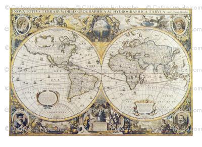 Large Antique Map