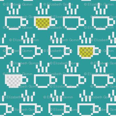 8-bit Coffee Blues