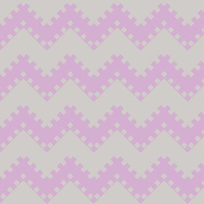 8bit Chevron in Purple