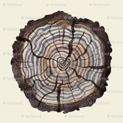 Logs natural