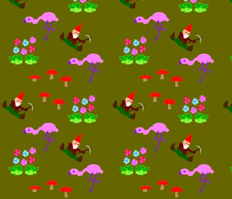 Turf Wars fabric by jokers_r_wild on Spoonflower - custom fabric