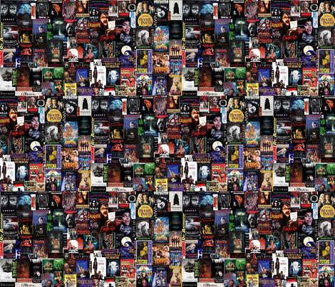 Horror Collage fabric by thegiltreys on Spoonflower - custom fabric