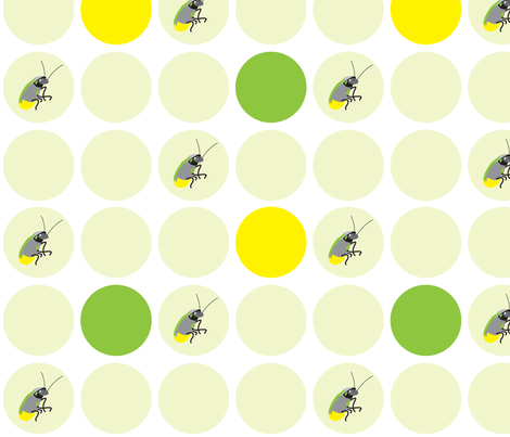 I spy a firefly fabric by designseventynine on Spoonflower - custom fabric