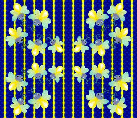 firefly1 fabric by jansouthard on Spoonflower - custom fabric