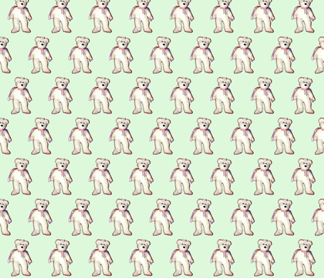 Bear3  fabric by koalalady on Spoonflower - custom fabric