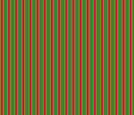 Forest_Christmas_Stripe fabric by kelly_a on Spoonflower - custom fabric