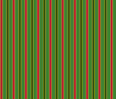 Christmas_Double_Stripe fabric by kelly_a on Spoonflower - custom fabric