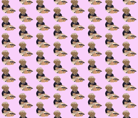 Bear 8  fabric by koalalady on Spoonflower - custom fabric