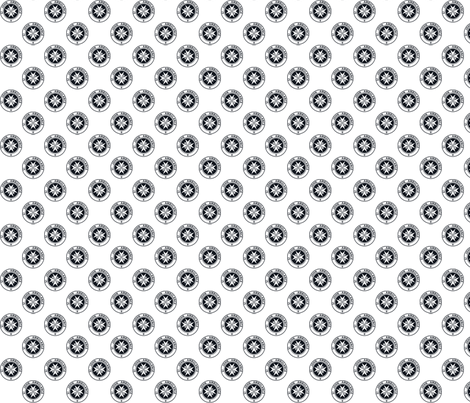 "St John Ambulance logo - 1"" on white fabric by risarocksit on Spoonflower - custom fabric"