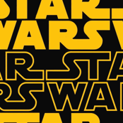 star wars logo (yellow)