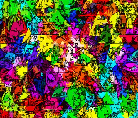 Superhero Landscape fabric by glanoramay on Spoonflower - custom fabric