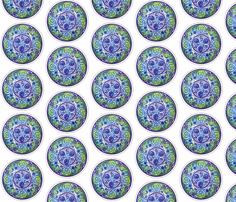 Celtic window fabric by mairenobesart on Spoonflower - custom fabric
