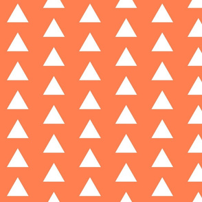White Triangles on Coral