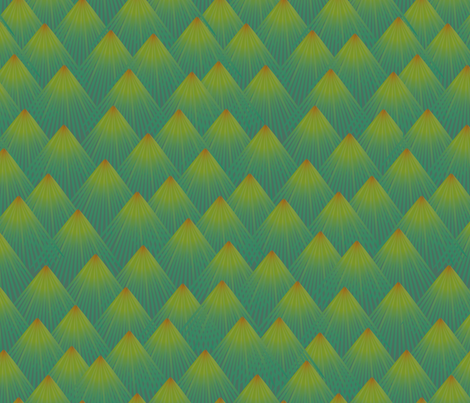 Pine fabric by melhales on Spoonflower - custom fabric