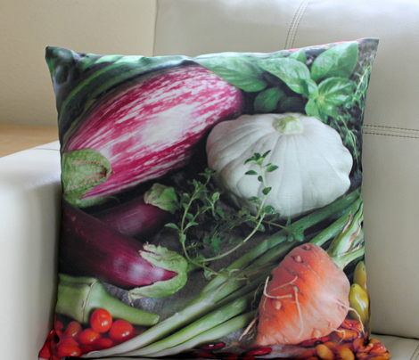 Holly's Vegetables Pillows