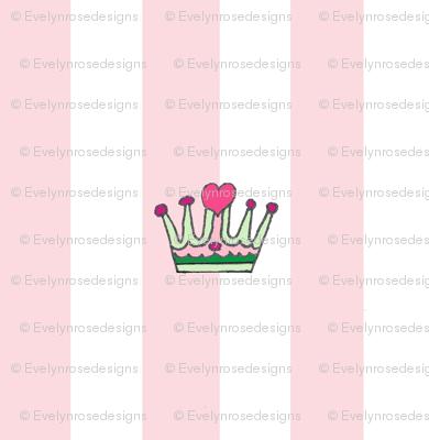 Sweetpea Crown and Stripe