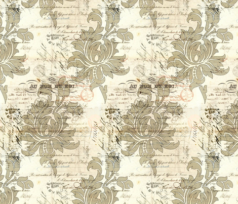 Warm Old fabric by peagreengirl on Spoonflower - custom fabric