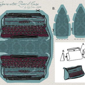 Damask Typewriter