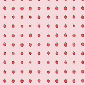Strawberry Days - Small Pink