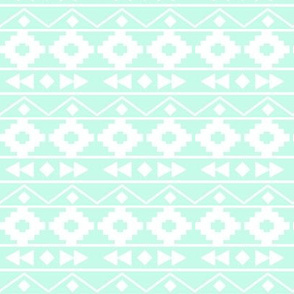 Mint tribal rows