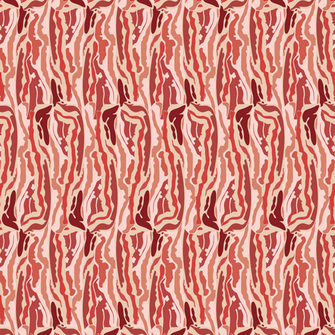the_real_bacon fabric by susiprint on Spoonflower - custom fabric