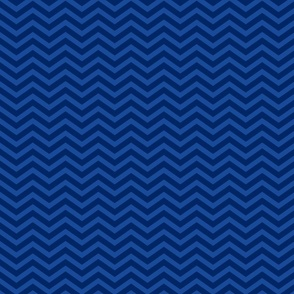 Navy and Blue Chevron