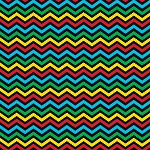 Primary Colored Chevron