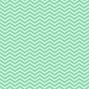 Sweet Mint Chevron