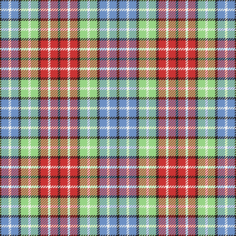 tartan - fifties contest fabric by sef on Spoonflower - custom fabric