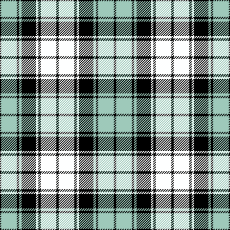 tartan - spoonflower birds fabric by sef on Spoonflower - custom fabric