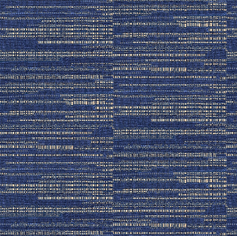 Pongee in indigo blue and light gray fabric by materialsgirl on Spoonflower - custom fabric