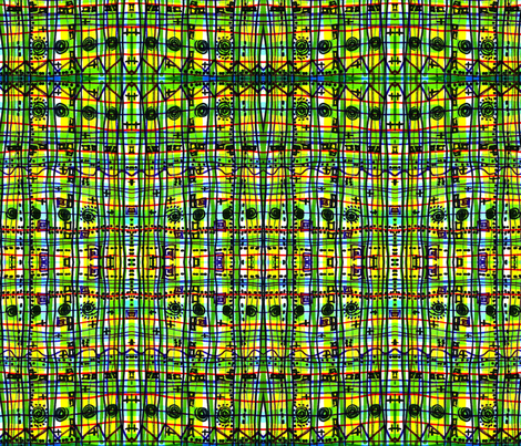 Bizarre Spacy Plaid