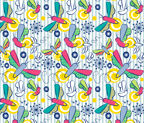 Summer Magic fabric by bojudesigns on Spoonflower - custom fabric