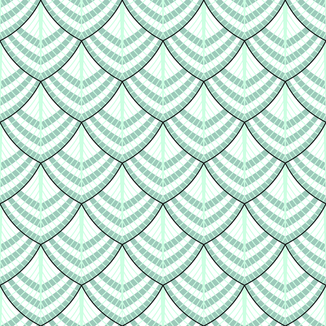 feather 1x striped fabric by sef on Spoonflower - custom fabric