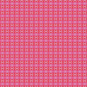 Arrowheads Red/Fuschia