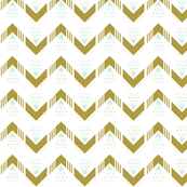 mustard triangle chevron