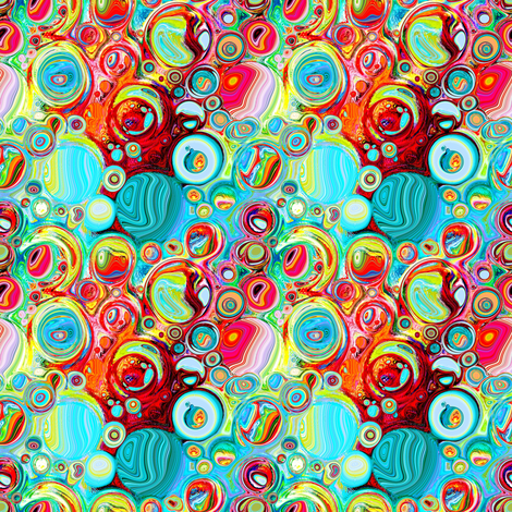 dreaming of agates fabric by keweenawchris on Spoonflower - custom fabric