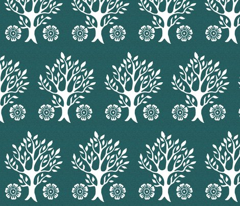 R2flowers-visual-bal-white-tree-stamps-fabric2-crop2-wht-dkblgrn_shop_preview