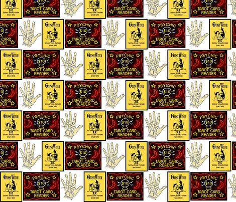 psychic-ed fabric by thegiltreys on Spoonflower - custom fabric