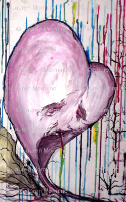 Sick Hearts Original Painting