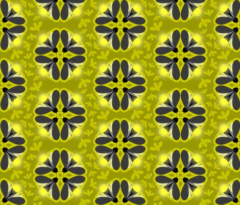 Fancy Fireflies fabric by debbzilla on Spoonflower - custom fabric