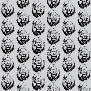 mane lion face