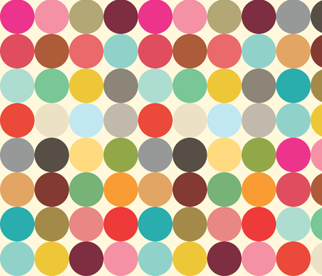 Palette Dots fabric by michellenilson on Spoonflower - custom fabric