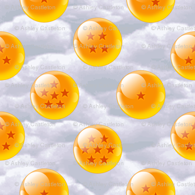 all of the dragon balls!
