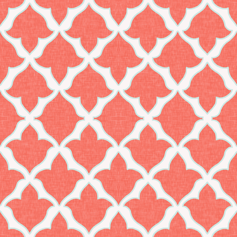 mint chevron patterns coral - photo #12